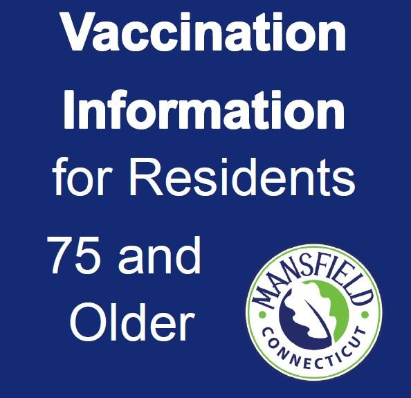 Vaccination Info 75+ Graphic